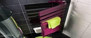 seche serviette electrique 8 modeles pour une salle de With porte de douche coulissante avec radiateur electrique soufflant seche serviette salle de bain