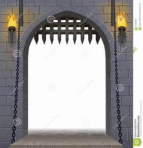 Castle Drawbridge Stock Illustrations – 106 Castle ...