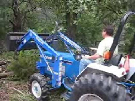 ford  tractor working youtube