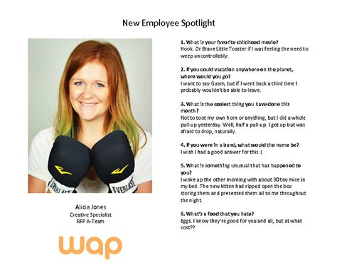employee spotlight template employee spotlight workers assistance program wap
