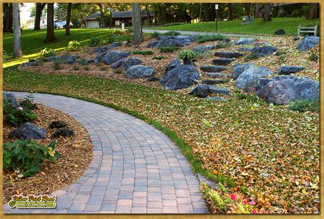 natural stone pathway  paver pathways mpls mn