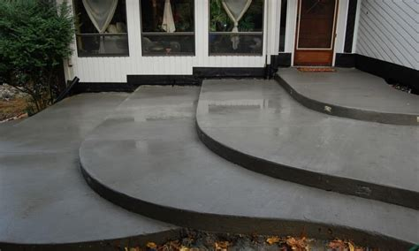 stained concrete patio ideas landscaping gardening ideas