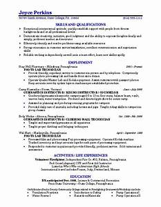 Sample resume college student learnhowtoloseweightnet for Best resume for college students