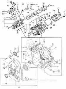 Robin  Subaru Eh65 Parts Diagram For Crankcase