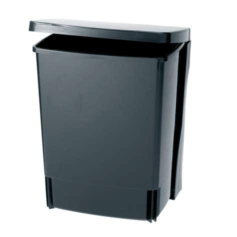 poubelle cuisine porte poubelle de porte à fixer 10 litres