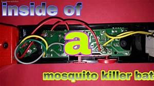 Mosquito Killer Bat Circuit Diagram And Working Principle