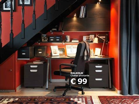 idée d 39 aménagement d 39 un bureau sous un escalier ikea