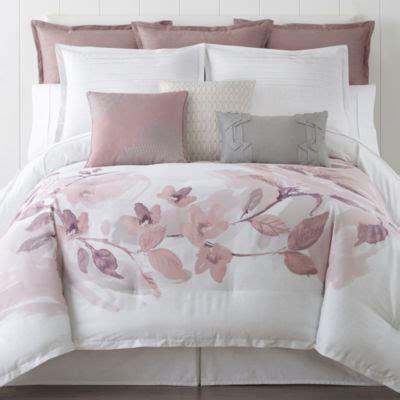 liz claiborne blush floral 4 pc floral comforter jcpenney