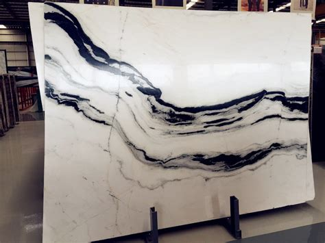 kitchen island worktops panda white marble slabs