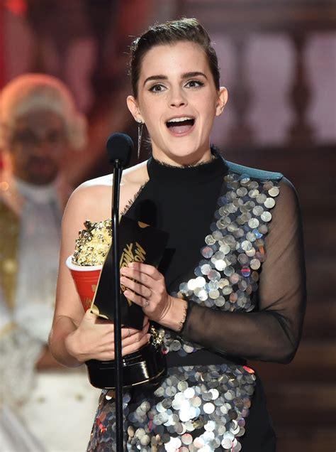 Emma Watson The Mtv Movie Awards Popsugar
