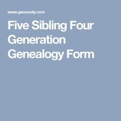 immigration form for siblings 857 best genealogy forms images in 2019 family trees