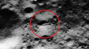 Derelict Spacecraft On the Moon - Pics about space