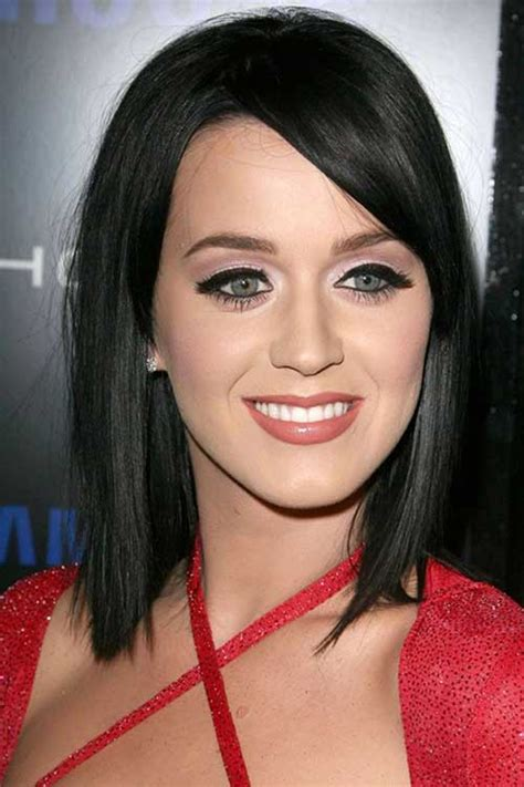 long bob dark hair bob hairstyles  short