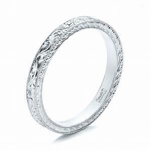 joseph jewelry women 39 s wedding rings hand engraved ...