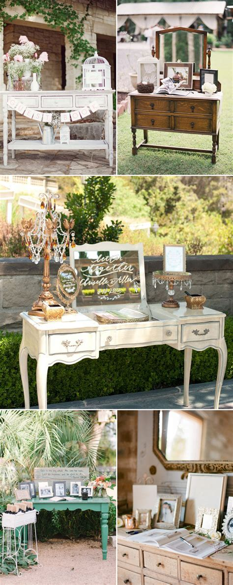 35 Creative Guestbook and Sign in Wedding Table Décor