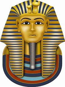 Golden mask king tut clip art at clkercom vector clip for King tut mask template