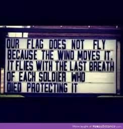 Freedom Isn't Free Thank You Veterans