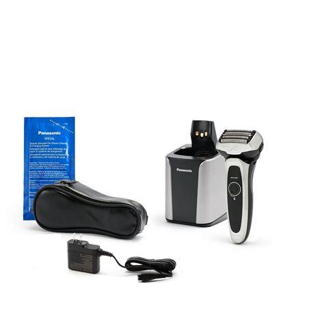 panasonic panasonic arc shaving machine  cleaning  charging