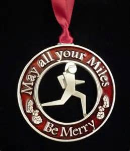 merry miles runner christmas ornament made in the usa