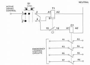 Fnd Fdet8 Emergency Lighting Test Switch