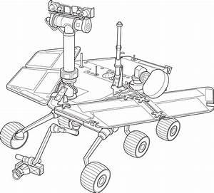 OnlineLabels Clip Art - Mars Exploration Rover