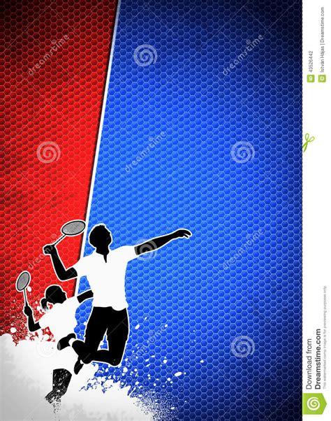 badminton background stock photo image  active