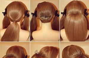 Elegant Chignon for Long Hair Beauty Zone