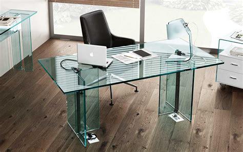 scrivanie in vetro la collezione di scrivanie in vetro llt ofx executive