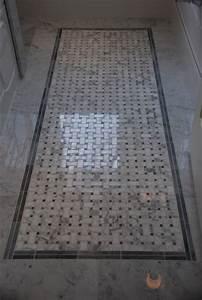 Basketweave floor tile from saltillo tiles toronto for Fall in shower floor