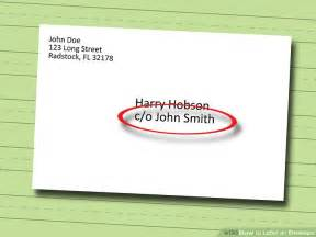 Do I To Put My Address On My Resume by How To Label An Envelope 13 Steps With Pictures Wikihow