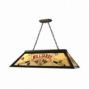 Springdale lighting light antique bronze billiard pool