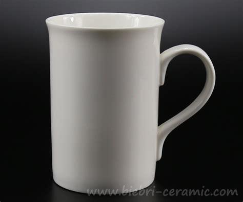 Retail Wholesale Plain White Color Porcelain Coffee And