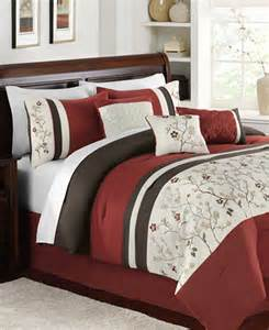 bella donna 7 piece embroidered comforter sets bed in a bag bed bath macy s