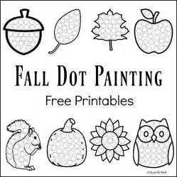 year 1 worksheets free printable fall dot painting free printables the resourceful
