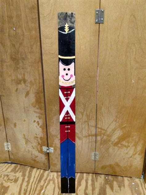 pallet toy soldier  projects wooden christmas