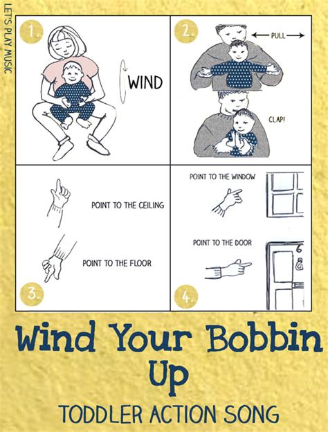 wind your bobbin up nursery rhymes let s play 133 | wind your bobbin up actions