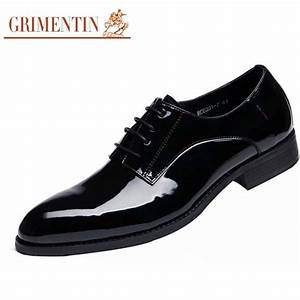 grimentin fashion mens wedding shoes pantent leather With men s wedding dress shoes