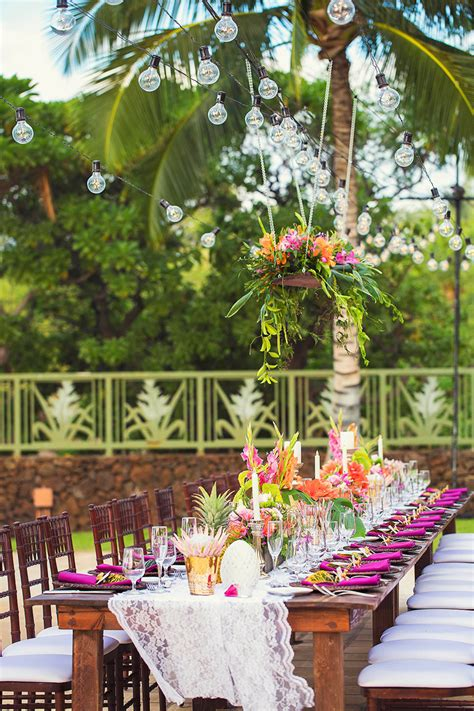Honualai  A Sullivan Estate Wedding  Big Island Wedding