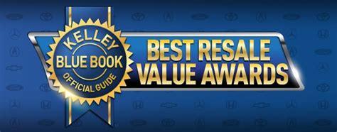 resale  awards kelley blue book