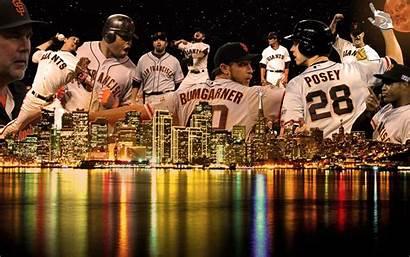 Giants Francisco San Wallpapers Backgrounds Baseball Buster