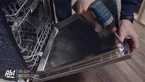 How To  Bosch Dishwasher Panel Installation