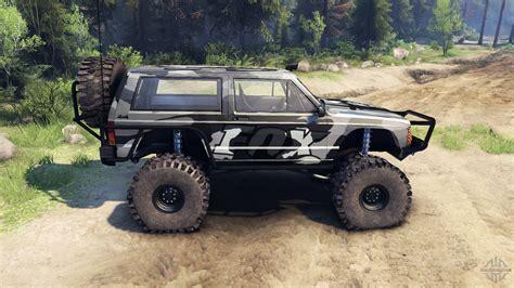 camo jeep grand cherokee jeep cherokee xj v1 3 camo for spin tires