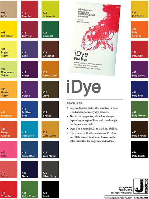 fabric dye colors mendels fabric dyes and supplies idye for synthetic