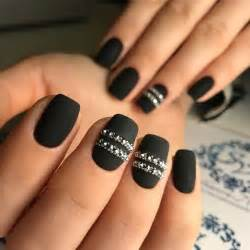 Best black nail polish ideas on matte