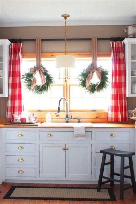 kitchen cabinet treatments 30 kitchen window treatment ideas for decoration 2817
