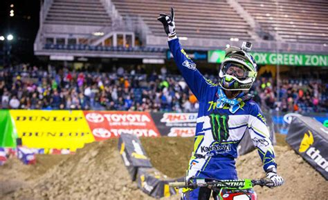 ama motocross 2014 results 2014 ama supercross seattle results motorcycle com news
