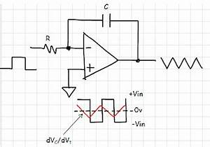 electronics is fun practical integrator circuit a With triangle squarewave generator