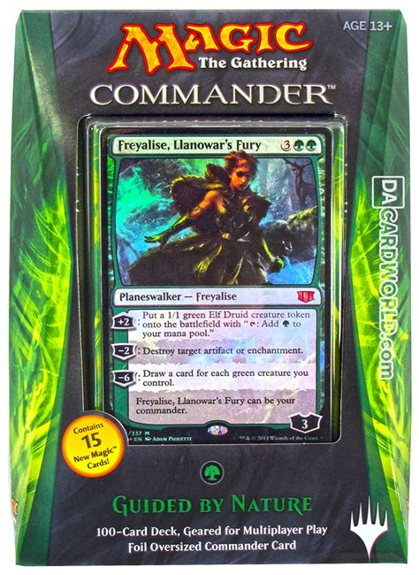 magic the gathering commander deck box 2014 da card world