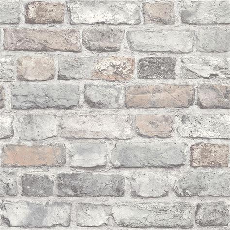 love wallpaper battersea brick wall effect wallpaper