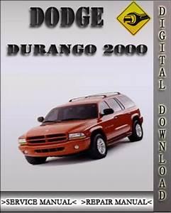 2000 Dodge Durango Factory Service Repair Manual